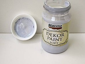Farby-laky - Decor Paint Soft 100ml -   holubia sivá - 6802854_
