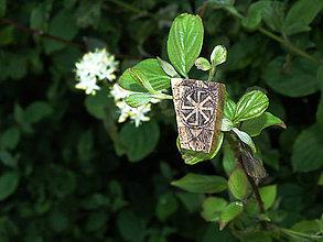 Odznaky/Brošne - brošňa (agát) - 6801304_