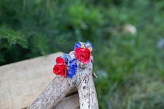 Náušnice - Kvetinové náušnice k náhrdelníku... na želanie :-) - 6804206_