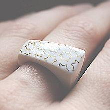 Prstene - Prsteň - RING RING - gold - hviezdny - 6801457_