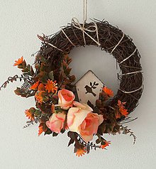 Dekorácie - Jesenny veniec - 6803037_