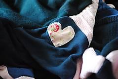 Úžitkový textil - Tmavomodroružová deka na dvojposteľ - 6805069_