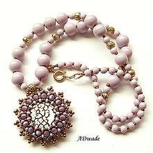 Náhrdelníky - Korálkový náhrdelník 589-0031 - 6806560_