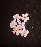 Iné šperky - jabloňové kvieťa - 6808368_