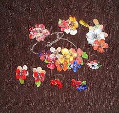 Sady šperkov - Julia vintange flowers set -mix - 6808418_
