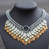 Náhrdelníky - Argetlam bronzový - náhrdelník - 6805460_