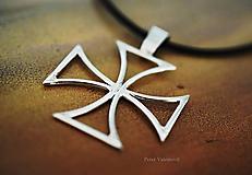 Šperky - Maltézsky kríž - 6806502_