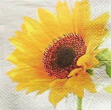 Papier - S725 - Servítky - slnečnica - 6807339_
