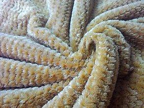 Textil - Baby Soft - béžová - cena za 10 cm - 6807713_