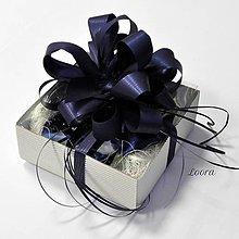 Nezaradené - Darčeková krabička s mašľou - 6805597_