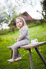 Detské oblečenie - Rostoucí overal 100% letní MERINO: barvy na přání - 6808233_