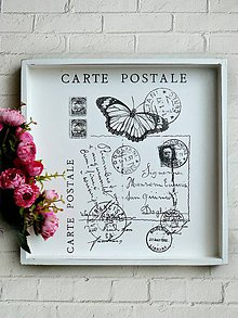 Nádoby - Carte Postale podnos - 6806721_