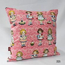Úžitkový textil - Obliečka na vankúš Bábiky - 6808400_
