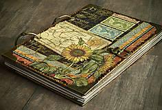 - Zápisník SLNEČNICA pre milovníčku rastlín,kvetov a záhrad - 6806891_