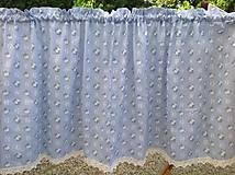 Úžitkový textil - Záclony - 6809955_