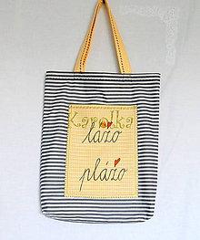 Nákupné tašky - Nákupná taška (Lážo - Plážo) - 6810005_
