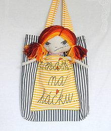 Nákupné tašky - Nákupná taška (Na háčku) - 6810034_