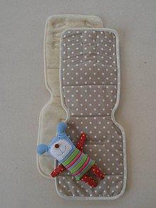 Textil - Podložka do kočíka PEG PEREGO 100%  Merino - 6810653_