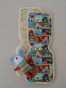 Textil - Podložka do kočíka PEG PEREGO 100% Merino - 6810679_