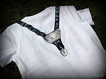 Detské oblečenie - Spoločenské pohodlné s motýlikom pre chlapčeka - 6809732_