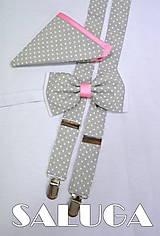 - Set motýlik + traky + vreckovka super ponuka - 6810649_