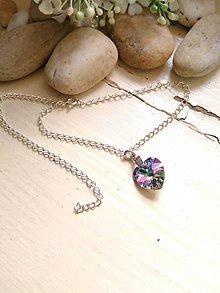 Iné šperky - Nákotníček -retiazka na nohu so Swarovski - 6811020_