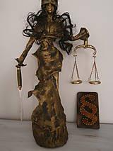 Socha - Justícia, alebo Bohyňa spravodlivosti? - 6809919_