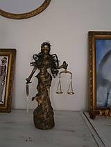 Socha - Justícia, alebo Bohyňa spravodlivosti? - 6809924_