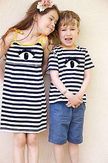 Detské oblečenie - Bavlnené šaty L☉☉K ! - 6809036_