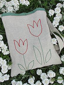 Iné tašky - tulipány - 6809195_