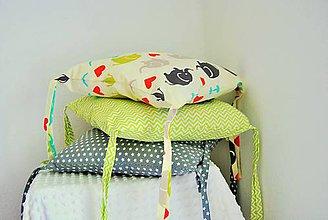 Textil - Vankúšové hniezdo - 6812875_