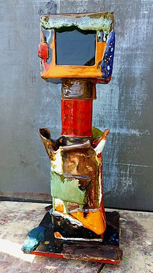 Svietidlá a sviečky - EASY RIDER small lamp no 2. - 6812810_