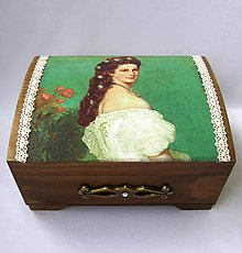 Krabičky - Šperkovnica Sissi - 6813623_
