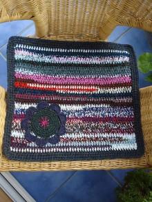 Úžitkový textil - koberček - podsedák - 6813015_