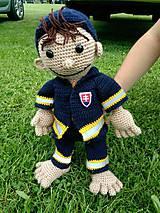 Hračky - hračka - hasič Hugo - 6812497_