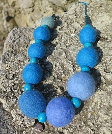 Náhrdelníky - Modrý ako obloha - 6813071_