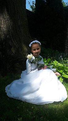 Detské doplnky - Čelenka na 1. sväté prijímanie - 6811696_