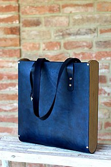 Kabelky - Taška SHOPPER BAG TALL ROYAL BLUE - 6812641_