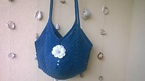 Veľké tašky - Summer Bag ...modrá - 6812377_