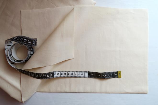 Na začiatok si pripravíme látku z ktorej budeme šiť telíčko. Ideálna látka  je bavlnená ea51cd80658