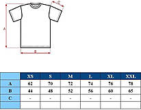 Oblečenie - Pánske tričko -Odkaz vždy čerstvý - alebo tabuľa na tričku - 6813788_