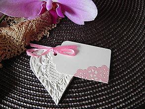 Darčeky pre svadobčanov - Svadobné srdiečka - malinová pena:-) - 6813913_