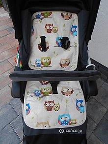 Textil - CONCORD Podložka do kočíka celoročná 100% Merino a 100%  bavlna - 6816153_