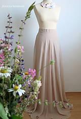 romantická dlhá sukňa