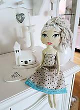 Bábiky - Bábika dievčenská Penelope - 6814546_