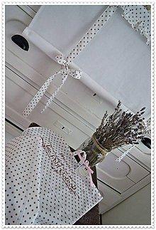 Úžitkový textil - Roleta a utierka, set do kuchyne - 6814678_