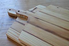 Dekorácie - lopár hranatý, staré drevo - 6817533_