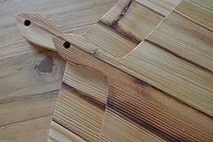 Dekorácie - lopár hranatý, staré drevo - 6817535_