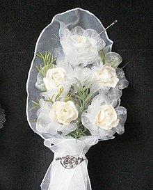 Pierka - Svadobné pierko veľké Romantik-1 - 6819125_