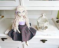 Bábiky - Bábika slečna Izabella - 6819291_